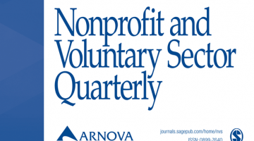 Cover of Nonprofit and Voluntary Sector Quarterly, Vol. 48, No. 1